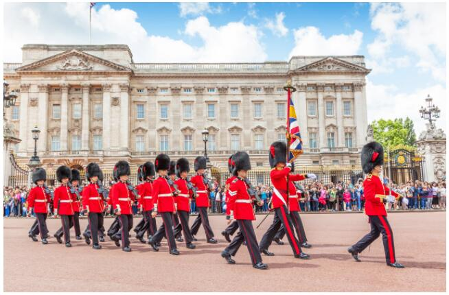 Buckingham Palace is one of London's most famous places to visit