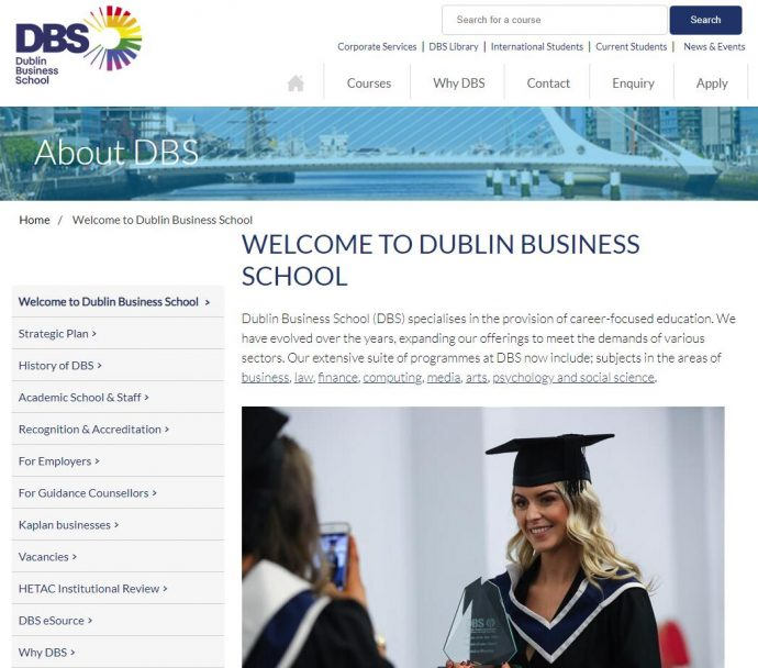 DBS School of Arts, Business, Law and Professional